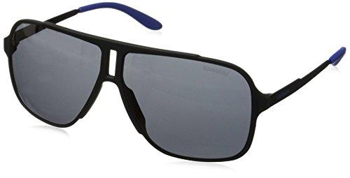 Carrera Herren 122/S IR Guy Sonnenbrille, Schwarz (Black Matte/Grey Blue), 61