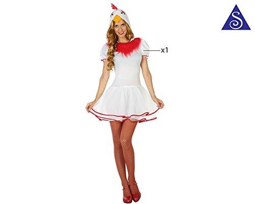 Imagen de disfraz gallina mujer talla m l alternativa