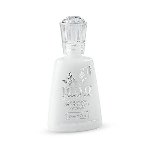 Nuvo by Tonic Studios Accents Glitter Bottle, Fresh Snowfall
