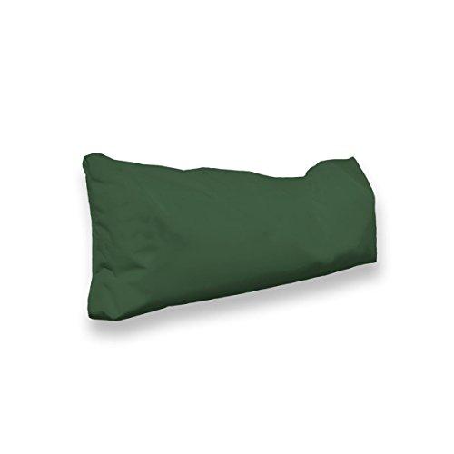 berlinpillow.de 4260406163334 Original Bean Bag In und Outdoor PalettenRückenkissen Pallets Bag, 70 x 30 x 10 cm, dunkelgrün