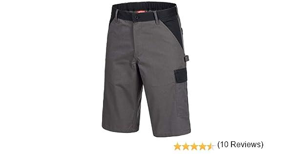 NITRAS Motion Tex Bermuda Grigi Pantaloni Corti da Lavoro per LEstate