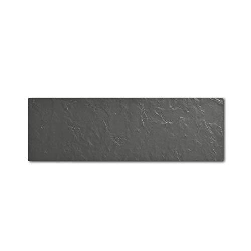 Radiateur horizontal TOUCH SILICIUM 1500W Ardoise Noire