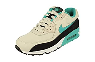 Nike Men's Air Max 90 Essential Gymnastics Shoes, Beige (Light Bone/Sport Turq-Black-White 001), 11 UK (B078RST3D3) | Amazon price tracker / tracking, Amazon price history charts, Amazon price watches, Amazon price drop alerts