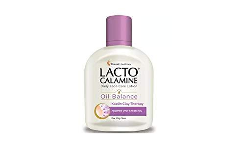 Lacto Calamine Skin Balance Daily Nourishing Lotion - Oil Control (120ml) -