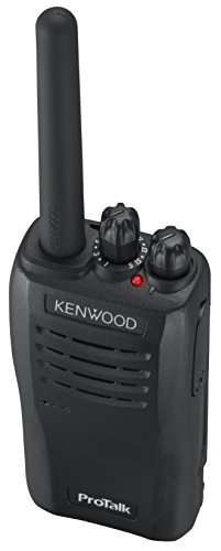 Kenwood TK-3501E PMR446 Transceiver, Schwarz/Anthrazit - Bild 6