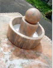 Zimmerspringbrunnen, Bonsai brunnen marmorstein Kugel Gartendeko ,Deko