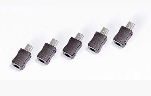 5pezzi micro USB 5Pin T Port maschio maschio 3pezzi per Arduino prototipazione Raspberry Pi 3d printer