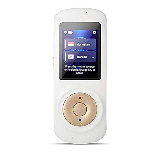 HYCy Instant Voice-Sprachübersetzer, Smart Zwei-Wege-WiFi-Touchscreen, tragbare Übersetzung für das Lernen von Geschäftsreisen