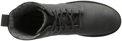 Clarks Originals Damen Maru Elsa Kurzschaft Stiefel Schwarz (Charcoal Leather)
