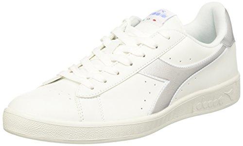 Diadora Gioco Da Uomo P Cromo Sneakers Avorio (bianco / Argento)