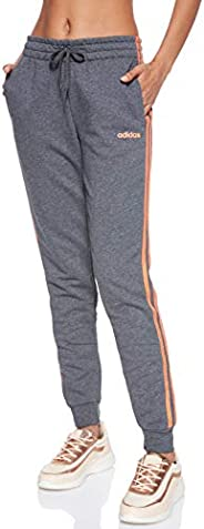 adidas Women's Essentials 3S Pants, Grey (Dark Grey Heather/semi Co