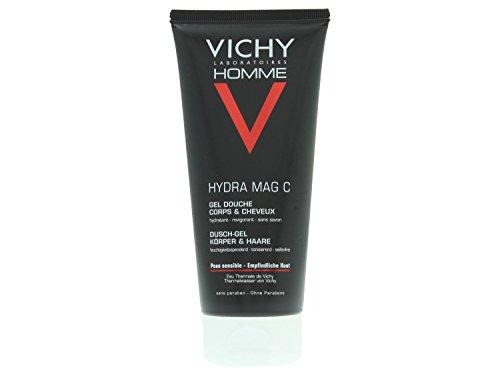 Homme Hydra Mag Shower gel di Vichy, Uomo - Tubetto 200 ml