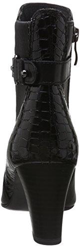 Caprice 25344, Bottes Classiques Femme Noir (Black Comb 19)
