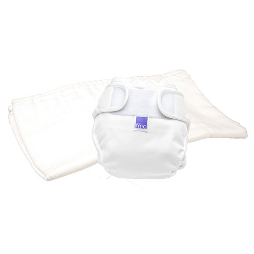 Bambino Mio, miosoft zweiteilige windel (probepackung), weiss, Größe 1 (<9kg)