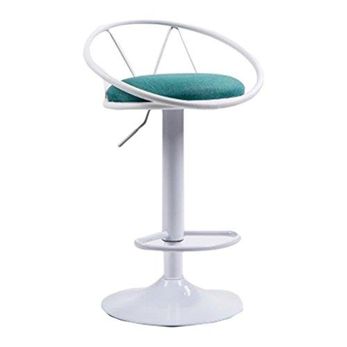 Rabatt-lift Stühle (SYXYSM Barhocker, Barhocker Front Desk Vintage High Stuhl Haushalt Rotierenden Lift Barbershop Barhocker (Color : #1))