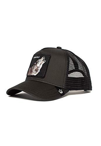 Goorin Bros. Trucker Cap Moon Lover Schwarz Black, Size:ONE Size