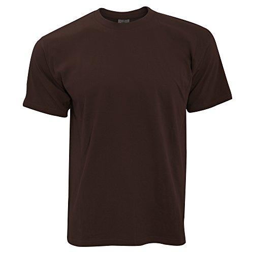 B&C Exact 190 Herren Kurzarm T-Shirt, Kurzarm Königsblau