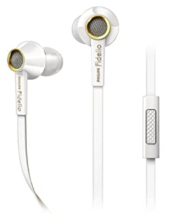 Philips Fidelio S2WT Premium InEar Kopfhörer (inkl. Universal-Headsetfunktion, 13,5mm Soundsystem, Hi-Res Audio, Turbo Bass Technologie; Akustikröhre) weiß/gold (B00BQ8RE8G) | Amazon price tracker / tracking, Amazon price history charts, Amazon price watches, Amazon price drop alerts