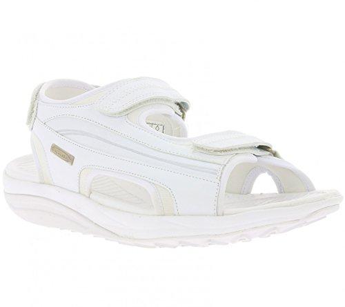 9e2762b576a9ea WALKMAXX Sandale 2.0 Schuhe Herren Fitness-Sandalen Gesundheitsschuhe Weiß  Weiß