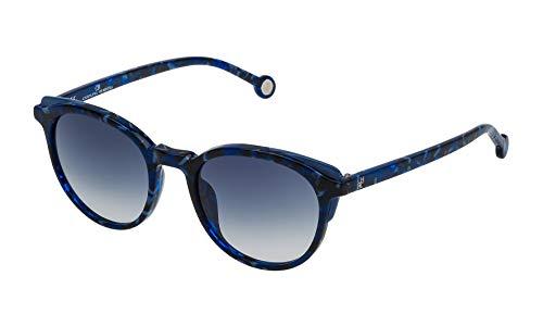 Carolina Herrera Damen SHE7425006DQ Sonnenbrille, Blau (Azul), 50