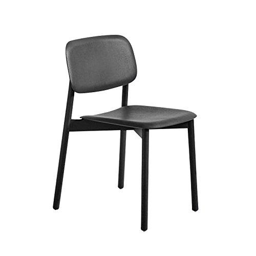 HAY Soft Edge 12 Stuhl, Eiche schwarz Gestell Eiche schwarz