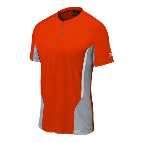Mizuno Youth Elite 2Tasten Jersey, orange/grau