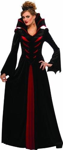 Gothic Vampira Kostüme Kleid (Rubie 's Offizielles Queen der Vampir)