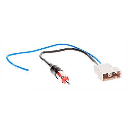carav 13-003KFZ-Stereo-Radio Antenne Adapter für Nissan 2007+ (Select Modelle) GT13(Female)-> DIN (männlich) Stecker