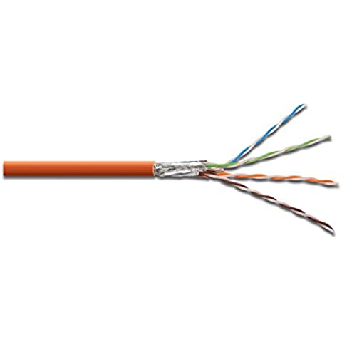 DIGITUS Professional CAT 7 S-FTP Twisted Pair Installationskabel, simplex, 1000m, 1200MHz, AWG 23/1,