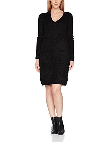 s.Oliver Damen Kleid 14710827151, Schwarz (Black Knit 99X0), 40