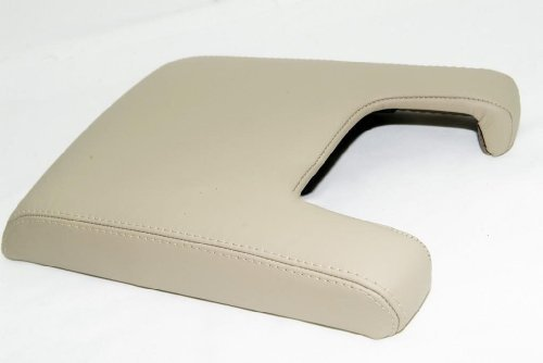 acura-tl-center-console-lid-armrest-cover-real-leather-tan-leather-part-only-by-aaaupholster