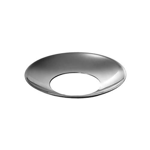 Kerzenhalter konisch Silber 22mm - Tülle und Tropfenfänger einzeln oder im Set, Größe:Fänger 20er Set