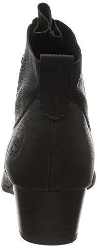 Marco Tozzi 25114, Bottes Classiques Femme Noir (BLACK ANTIC 002)