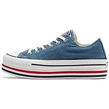 e45fb41e4d5d2 Converse Donna Sneakers Chuck Taylor all Star Platform Layer Ox