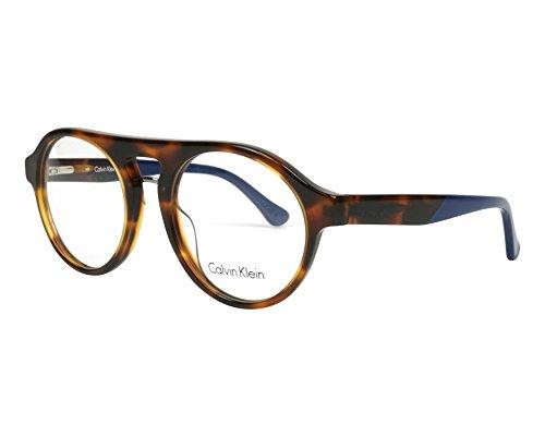 Calvin Klein Platinum - CK5926, Pilot (tropfenförmig), Acetat, Herrenbrillen, HAVANA (211 ),...