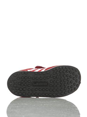 adidas Trainer CF I del neonato–rosso bianco blu–M20709 Rosso/Bianco