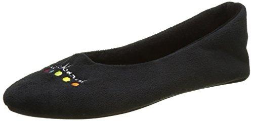 Piccole Signore Marcel Lm Pakita Basse Pantofole Noir (noir)