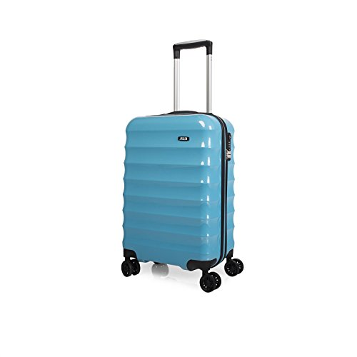 Trolley de cabina ABS/PC FASHION COLORS con TSA - Turquesa