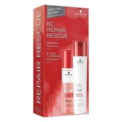 Schwarzkopf Professional Bonacure Repair Rescue Reversilane 2 for 1 Duo Shampoo & Conditioner -