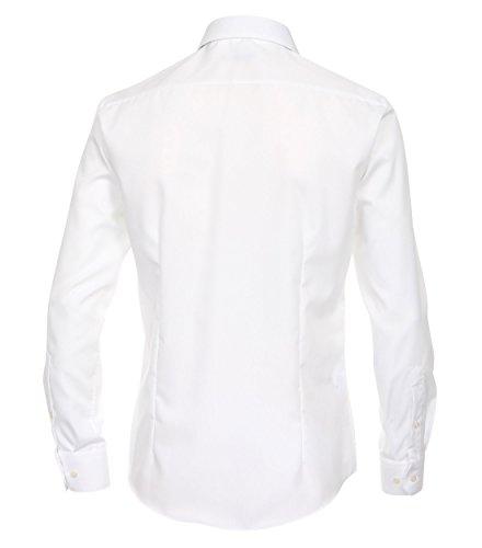 Michaelax-Fashion-Trade Camicia Classiche - Basic - Classico - Maniche Lunghe - Uomo Blau (111)