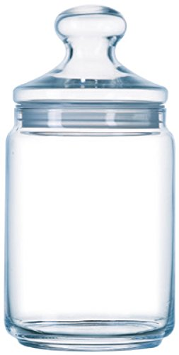 Luminarc Big Pot Club Dose mit Deckel 2 Liter, Vorratsglas, Bonbondose, 1 Stück