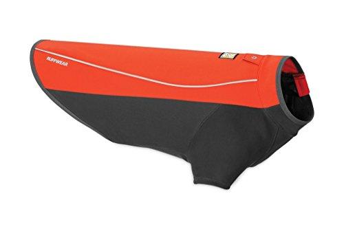 Ruffwear Wasserdichte Hunde-Jacke mit Fleece-Innenfutter, Kleine Hunderassen, Größe: S, Rot (Sockeye Red), Cloud Chaser, 05103-601S