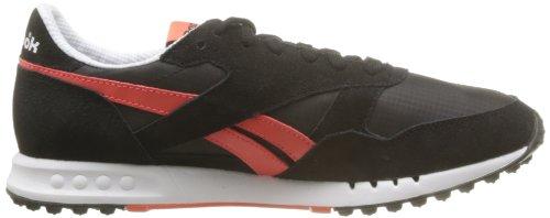 Reebok - Ers 1500 Neon, Scarpe sportive - Atletica leggera Uomo Multicolore (Mehrfarbig (BLACK/WHITE/BRIGHT CADMIUM))