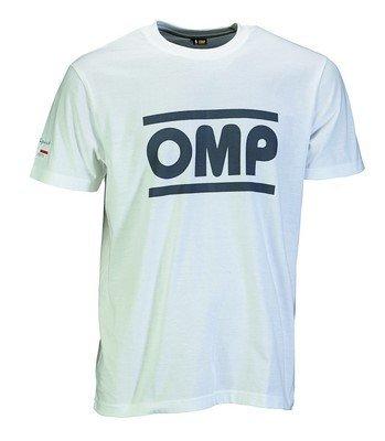 Omp OMPOR5904020S Racing-Geist-T Weiß Größe S, Talla S