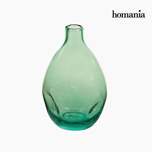 Jarrón de Vidrio Reciclado Verde - Colección Crystal Colours Deco by Homania