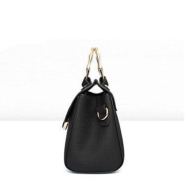 Damenmode PU Leder Messenger Umhängetaschen/Handtasche Tote Purple