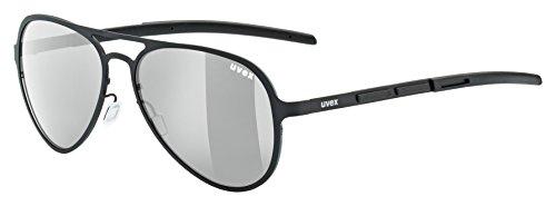 Uvex Erwachsene Lgl 30 pola Sportbrille, black, One size
