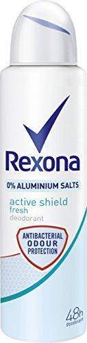 Rexona Deospray Active Shield Fresh ohne Aluminium, 6er Pack (6 x 150 ml)