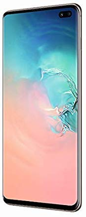 "Samsung Galaxy S10+ Smartphone, Display 6.4"", 128 GB Espandibili, Prism White [Versione Italiana]"