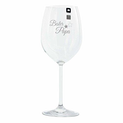 Leonardo Weinglas mit Gravur Motiv 'Bester Papa' Wein-Glas graviert